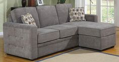 Best Sectional Couches for Small Spaces from Overstock.com. You can have a sectional sofa, even in a small space. Here's what to look for in a sectional for an apartment or small house.