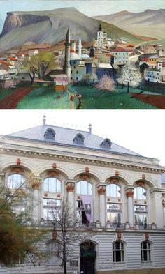 Csontváry Múzeum (Janus Pannonius u. Heart Of Europe, Homeland, Hungary, Taj Mahal, Beautiful Places, Janus, City, Building, Travel