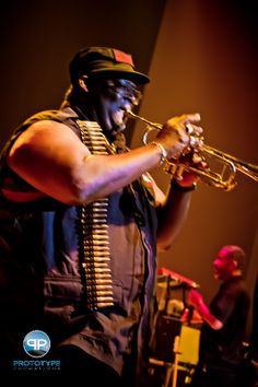 Parliament Funkadelic Trumpet Man & #RaiderNation