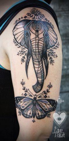 Belagoria: Elefantes, simbolismo y los 70 mejores tatuajes