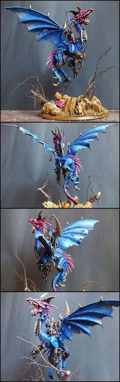 Dark Eldar dragon