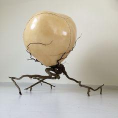 Resilience / Resistance by Tuva Widén. #Textile #art #sculpture #living…