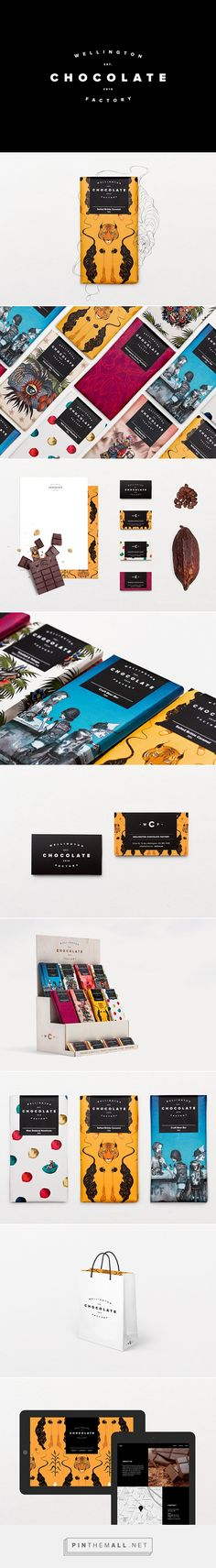 Wellington Chocolate Factory Branding and Packaging by Gina Kiel | Fivestar Branding Agency – Design and Branding Agency & Inspiration Gallery