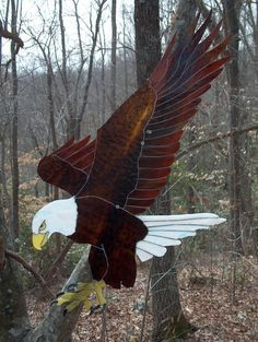 stained glass eagles on Pinterest | Eagles, Stained Glass and ...
