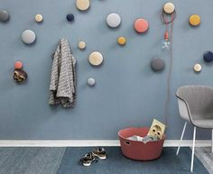 "Wandhaken ""The Dots"" von Muuto"