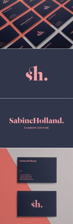 Sabine Holland: Fashion Editor Branding on Behance