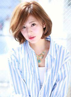 大人クールフェミニンボブ 【croix】 http://beautynavi.woman.excite.co.jp/salon/25862 ≪ボブ・ヘアスタイル・bob・hairstyle≫