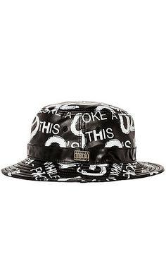 1e563b0c3de The G s Up Bucket Hat in Black by RockSmith