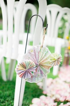 Aisle Marker Decor Ideas, Wedding Ceremony Photos by Aga Jones Photography