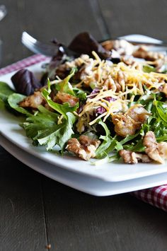 Walnut Shrimp Salad