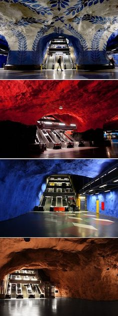 The #Subway in #Stockholm, #Sweden  http://directrooms.com/sweden/hotels/stockholm-hotels/price1.htm