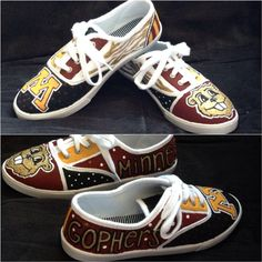 The gopher version of the shoes I make! Order your school's today :)