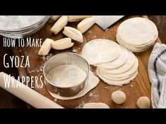 How to Make Gyoza Wrappers | Washoku.Guide