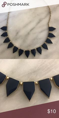 Necklace with Navy Points Necklace with Navy points from Francesca's. Francesca's Collections Jewelry Necklaces