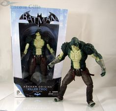 Killer Croc DC Collectibles Batman Arkham Origins Series 2 Deluxe Action Figure