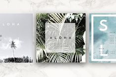 8 Pack Instagram Travel Layouts by alohaphilly on @creativemarket