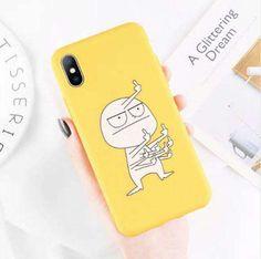 Cartoon IPhone Case - iPhone 8 Plus / Middle Finger