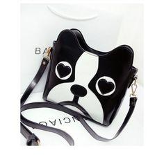 Cute Cartoon DOG'S Head BAG Messenger BAG Shoulder BAG Influx OF Women | eBay