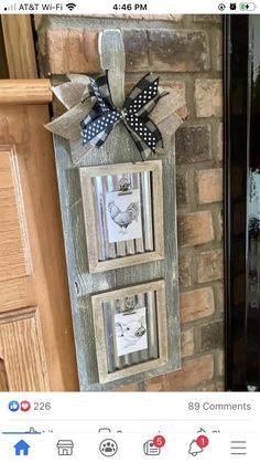 Dollar Tree Decor, Dollar Tree Crafts, Diy Crafts For Home Decor, Crafts To Do, Farmhouse Frames, Farmhouse Decor, Paint Stick Crafts, Farm Signs, Country Crafts