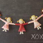 Mini doll in pannolenci Cartamodello e Tutorial