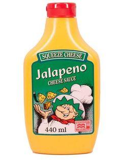 Jalapeno Squeeze Cheese, Käse Sauce, Dip