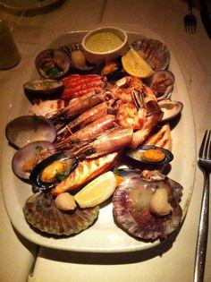 Parrilla de frutos do mar