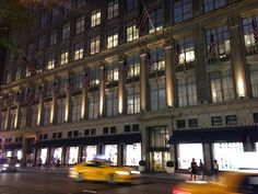 Tracy's New York Life | A Blog About Life in New York City--Saks Fifth Avenue Flagship
