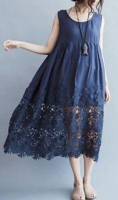 Dress Plus Size, Plus Size Outfits, Linen Dresses, Cotton Dresses, Halter Dresses, Elegant Dresses, Casual Dresses, Kaftan Designs, Cotton Long Dress