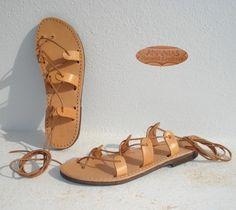 ANANIAS Roman Greek leather sandals $30