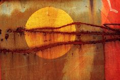 sunny glow and rust.