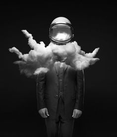 #astronaut #clouds