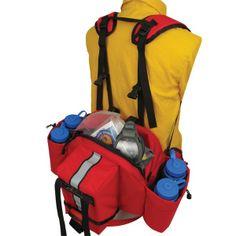 """Thielsen Fire Pro Wildland Pack - 10.5"""" x 13.5"""" x 6"""", 1,200ci, 2.5lb"""