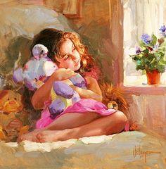volegov children paintings - Google Search
