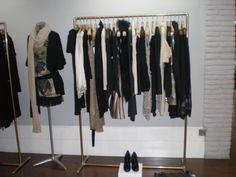 garment rack, visual merchandising