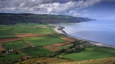 Holnicote Estate, Exmoor National Park in Somerset.A lovely place to explore