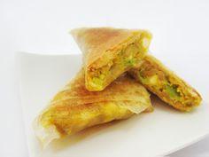 Recettes de cuisine bio et végétariennes !: Samoussa végétarien edamame et épices