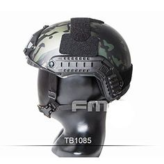 e257033899e ATAIRSOFT Adjustable Tactical Fast Type PJ BJ MH Helmet ABS For Airsoft  Paintball Military CS Game