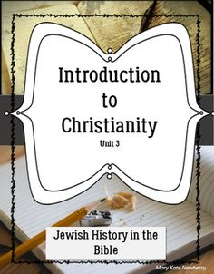 Introduction to Christianity Unit 3 History of the Jews in the Bible. Designed for ELLs, ESL, ESOL! Cooperative Learning Activities, Jewish History, English Language Learners, Bible Lessons, The Covenant, Teaching English, Esl, Lesson Plans, Christianity