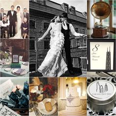 montage photo mariage chicago prohibition