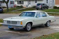 1979 Oldsmobile 98 Regency  Maintenance/restoration of old/vintage vehicles: the material for new cogs/casters/gears/pads could be cast polyamide which I (Cast polyamide) can produce. My contact: tatjana.alic@windowslive.com