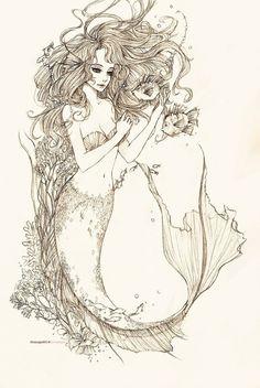 Request: Mermaid by bluesaga331