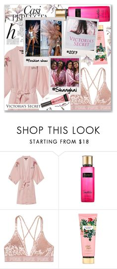 """""""✨Victoria's Secret Fashion Show✨"""" by anamarija00 ❤ liked on Polyvore featuring Whiteley, Victoria's Secret, runway, fashionshow, shanghai, 2017 and victoriassecres"""