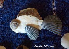 5+ DIY Seashell Crafts, seashell ideas