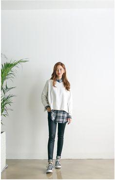 Cube MTM Tee | Korean Fashion