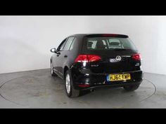 VOLKSWAGEN GOLF 1.6 TDI MATCH AUTO - Air Conditioning - Alloy Wheels - Bluetooth - Cruise Control - DAB Radio - Spare Key - Parking Sensors | In black ...