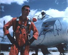 Dennis Quaid 'The Right Stuff' Signed 8x10 Photo Certified Authentic PSA/DNA