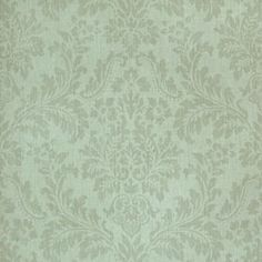Thibaut Texture Resource Vol 2 - Parisian Damask - Wallpaper - Aqua