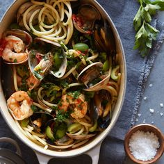#recipes Sun Dried Tomato and Seafood Puttanesca with Le Creuset and HauteLook #foodie