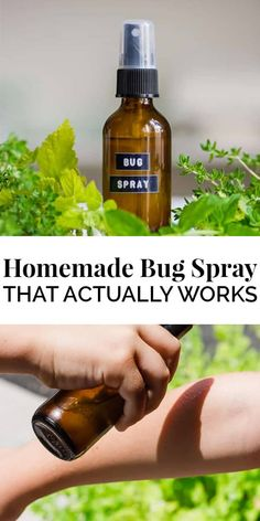 If you live in an area that is full of mosquitoes, ticks, and chiggers, than the Homemade Bug Spray recipe is for you! All natural without all the toxic chemicals and made in under 5 minutes gets you outdoors and having fun without the nuisance of bugs. Essential Oil Bug Spray, Are Essential Oils Safe, Cedarwood Essential Oil, Tea Tree Essential Oil, Essential Oil Blends, Homemade Mosquito Spray, Lemon Eucalyptus Oil, Bug Spray Recipe, Natural Bug Spray