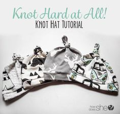 Knot Hard at All! Knot Hat Tutorial